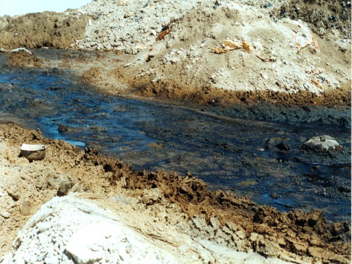 C mo se contamina el suelo for Como se creo el suelo
