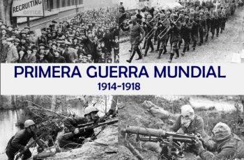 Cuando empezó la primera guerra mundial