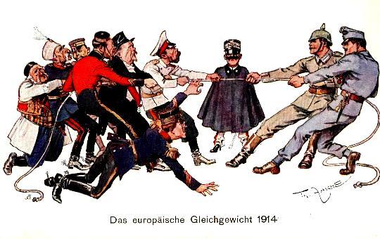 Quién ganó la Primera Guerra Mundial