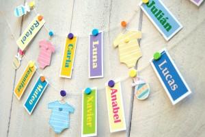 Nombres para bebés 2017