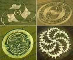 Apariciones extrañas en Inglaterra. Los círculos en las cosechas
